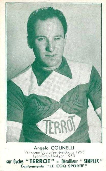 Angelo COLINELLI originaire d'Algrange 1925-2011 - Cycliste