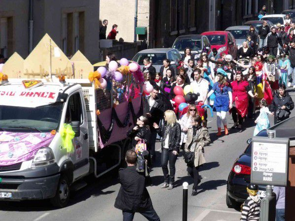 Carnaval 2012 à Algrange