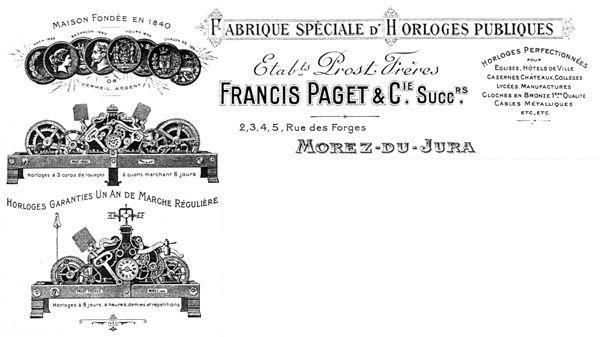 Le mécanisme de l'horloge de l'église saint Jean-Baptiste d'Algrange