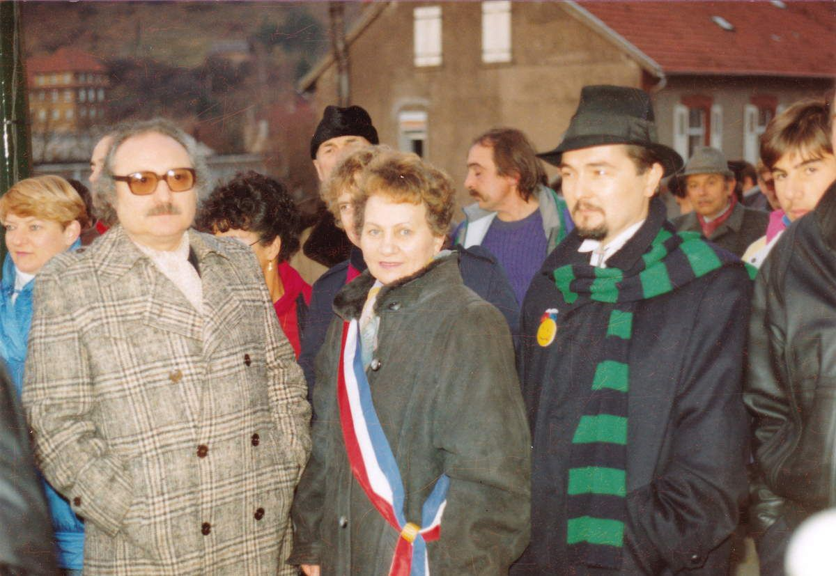 De gauche à droite: Alphonse PENSA, Henriette SIMONETTO et Greg GAWRA
