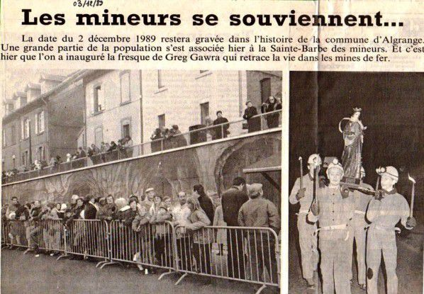 Article du Républicain Lorrain du 3 décembre 1989