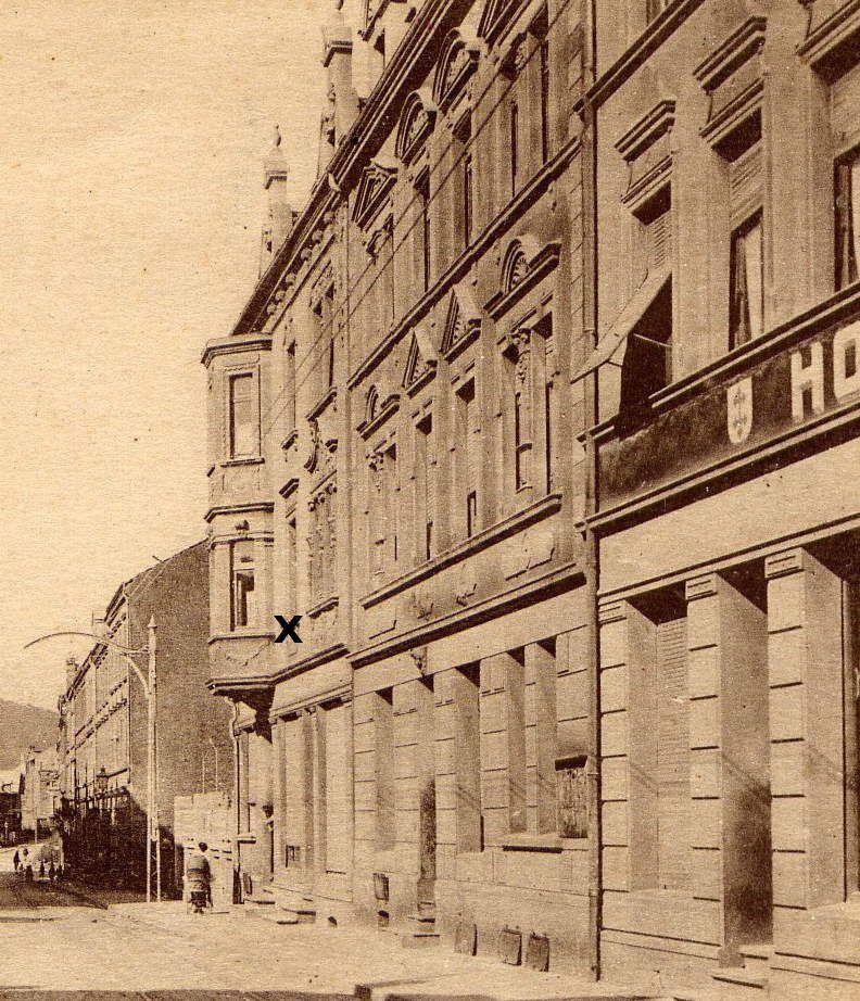 N° 6 rue Clemenceau à Algrange - Epicerie - Habitation