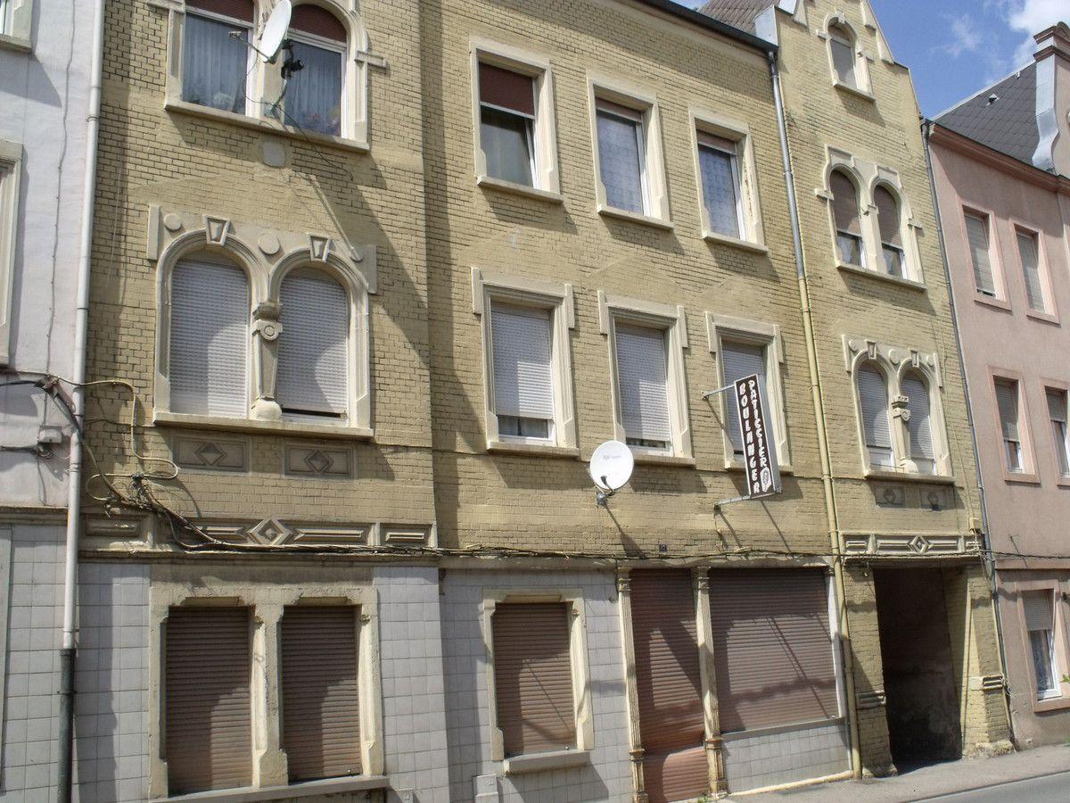 N° 17 rue Clemenceau à Algrange - Boulangerie - Habitation