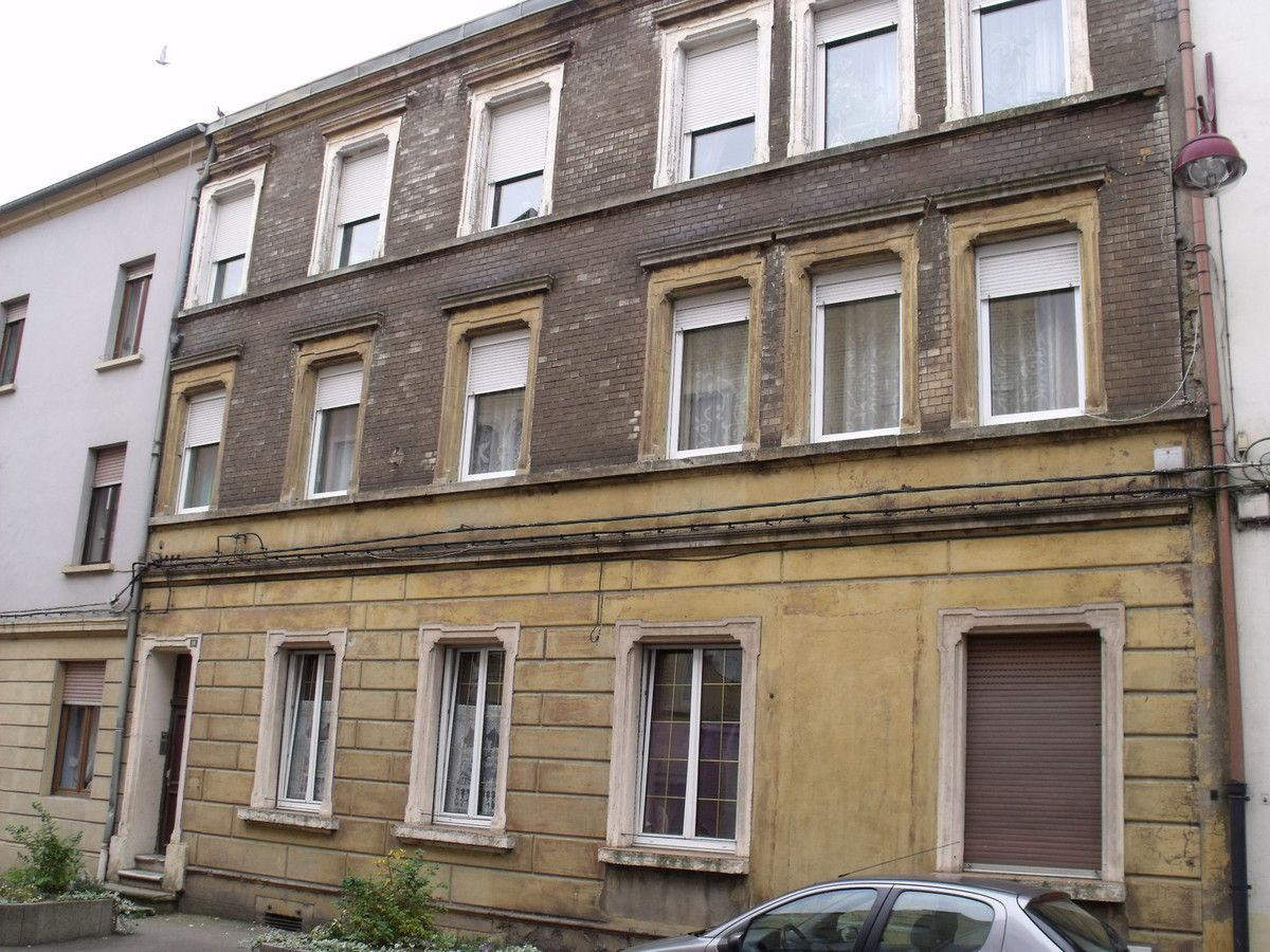 N° 18 rue Clemenceau à Algrange - Restauration - Habitation