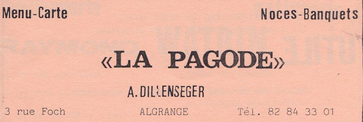 Publicité de 1977 et de 1990