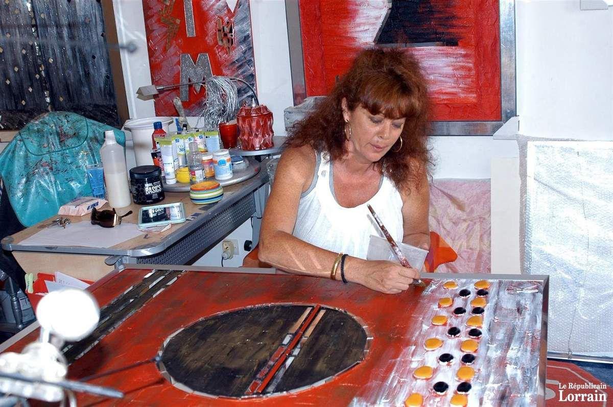 N° 33 rue Clemenceau à Algrange - Habitation et atelier de peinture