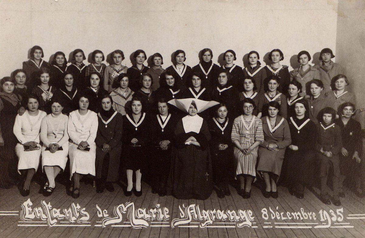 La paroisse catholique d'Algrange de 1918 à 1937 - Alphonse SCHANG