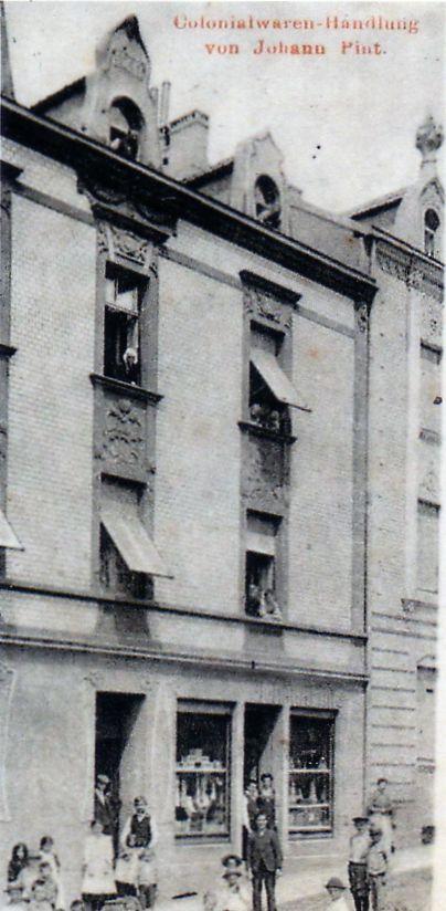 N° 47 rue Clemenceau à Algrange - Epicerie - Coiffeur - Habitation