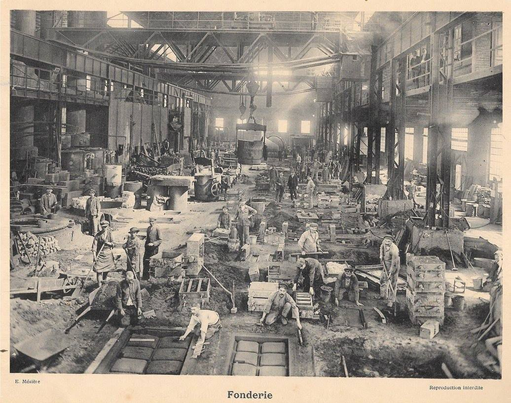 La Société Métallurgique de Knutange (S.M.K.) au début des années 1900