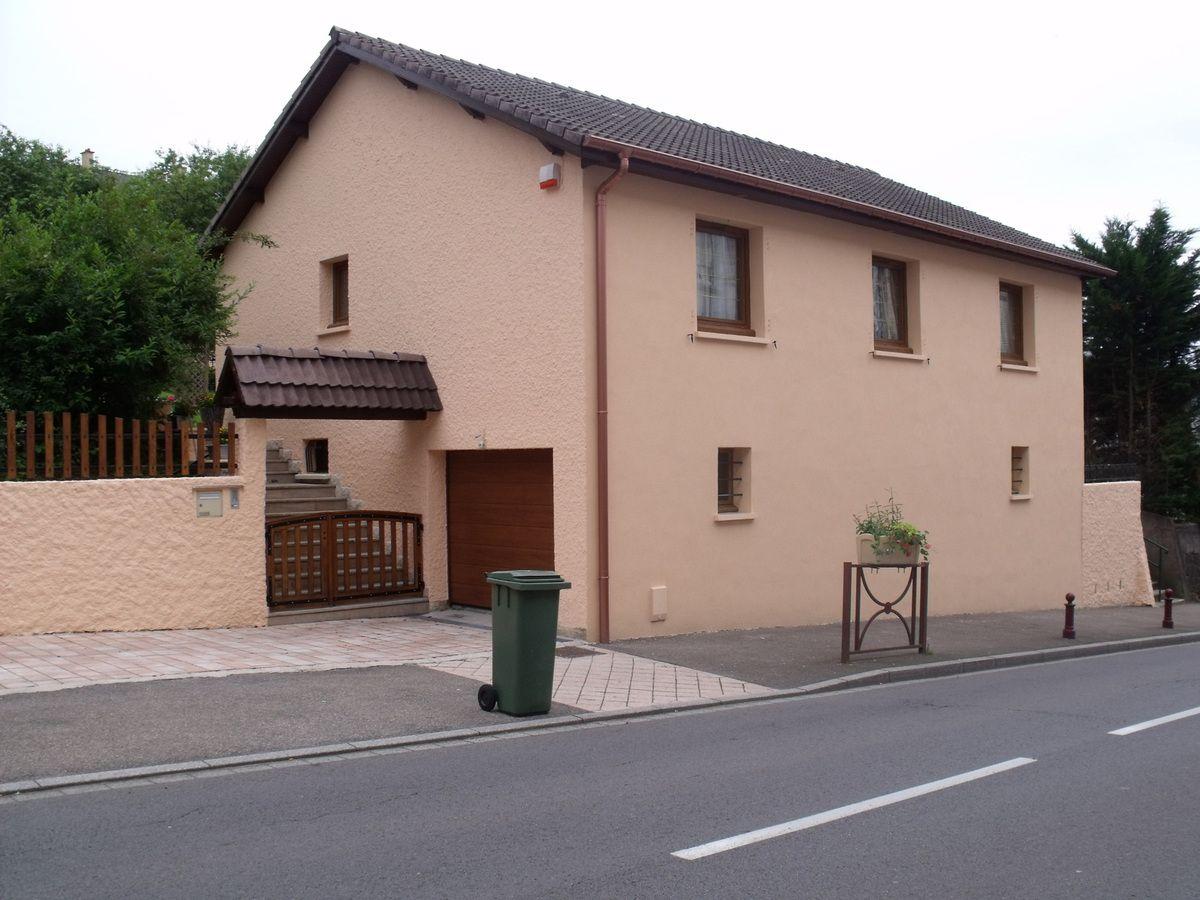 N° 54 rue Clemenceau à Algrange - Habitation