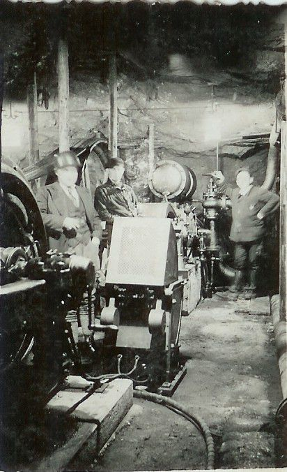 Des hommes et des machines dans les mines d'Algrange