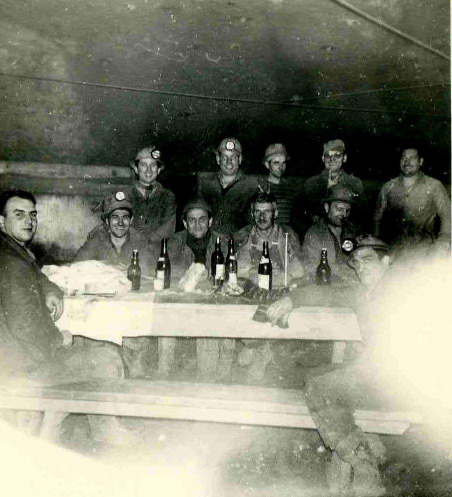 Le casse-croûte du mineur de fer à Algrange