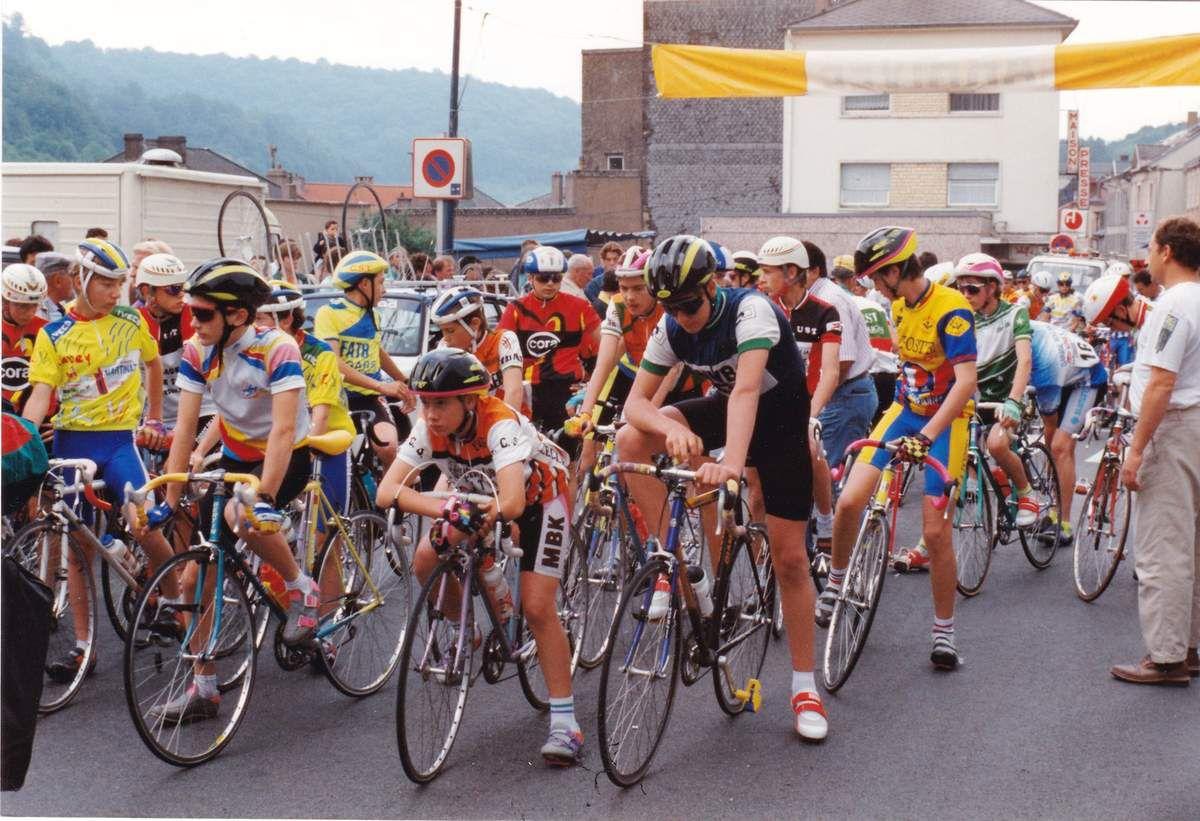 Championnat de Lorraine cycliste à Algrange en 1992