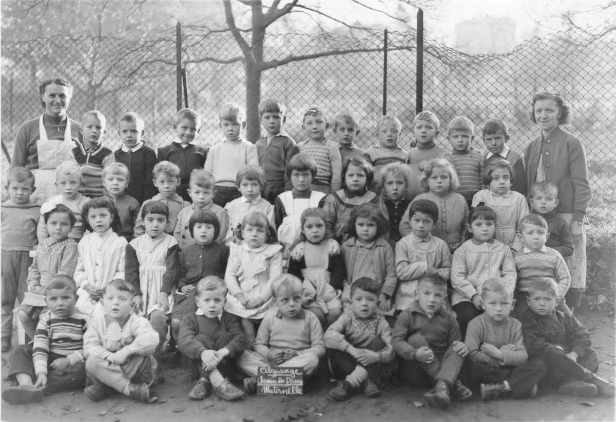 Photos de classes de Maternelle du Chemin des Dames à Algrange