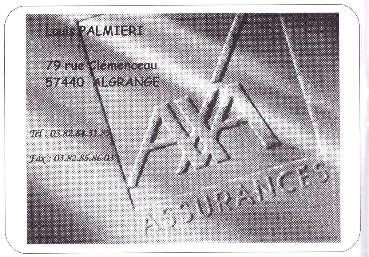 N° 79 rue Clemenceau à Algrange - Cafés - Confiserie - Banque Assurances...