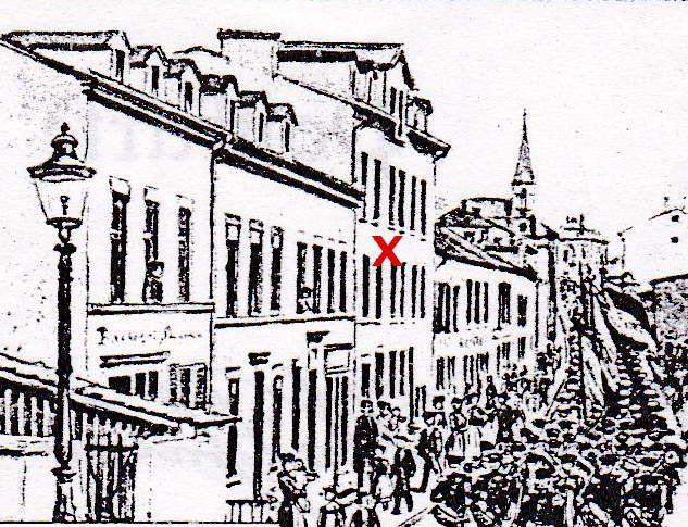 N° 24 rue Foch à Algrange - Coiffeur