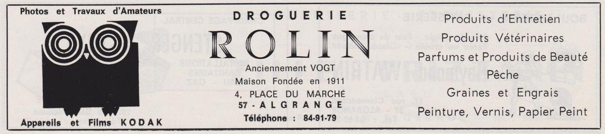 N° 4 rue Saint Jean à Algrange - Eglise - Droguerie Epicerie - Superette - Docteur - Habitation....