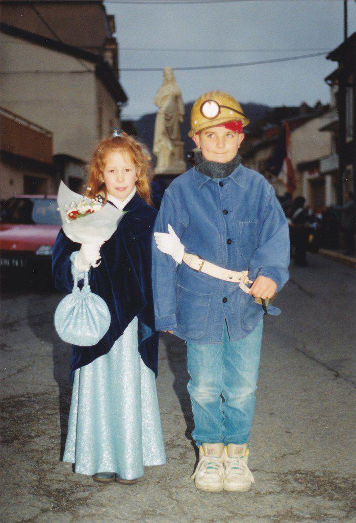 Sainte-Barbe des enfants de mineurs et exposition en 1992 à Algrange