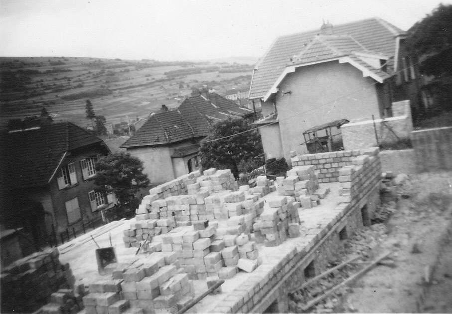 La rue des Castors (historique) à Algrange