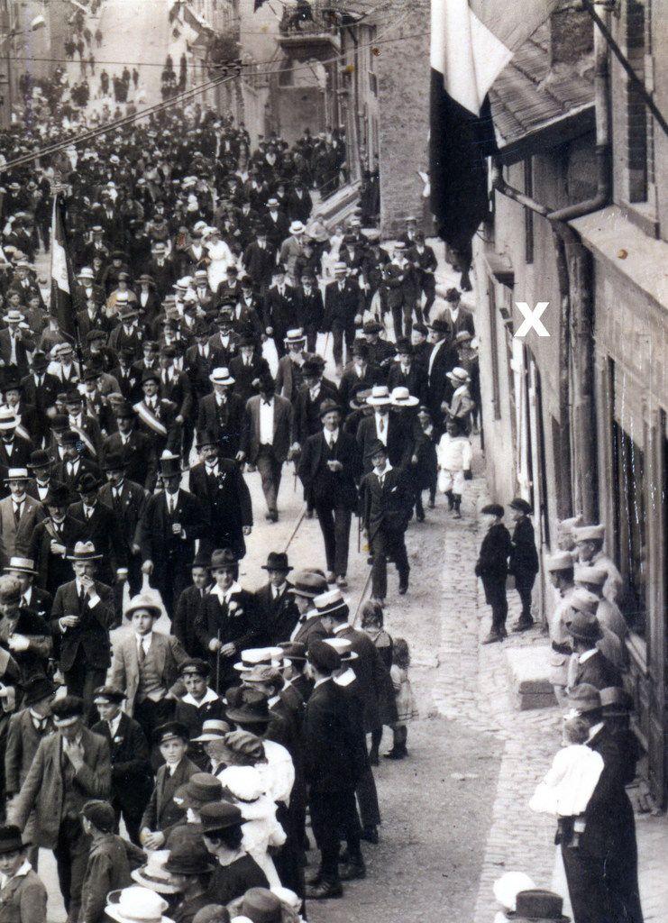 Ici dans les années 1920......
