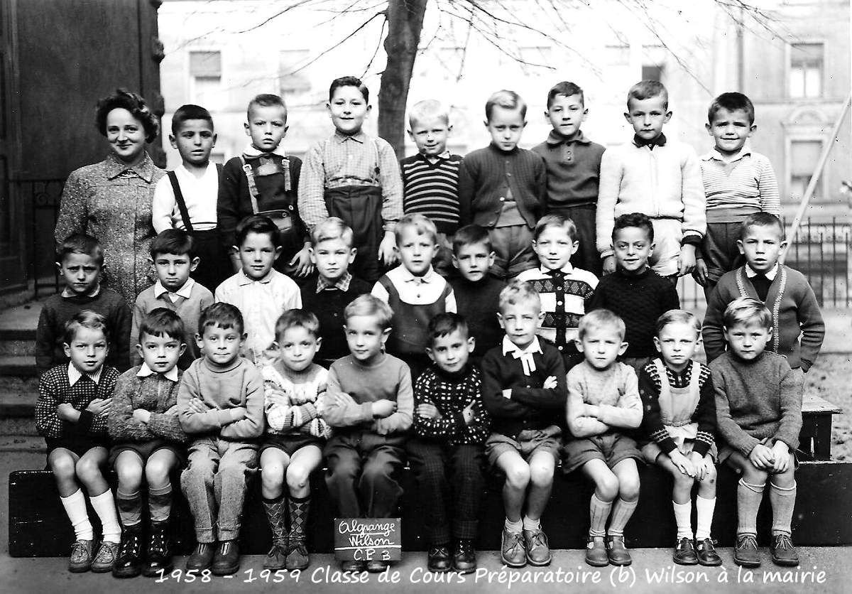 Année scolaire 1958 - 1959