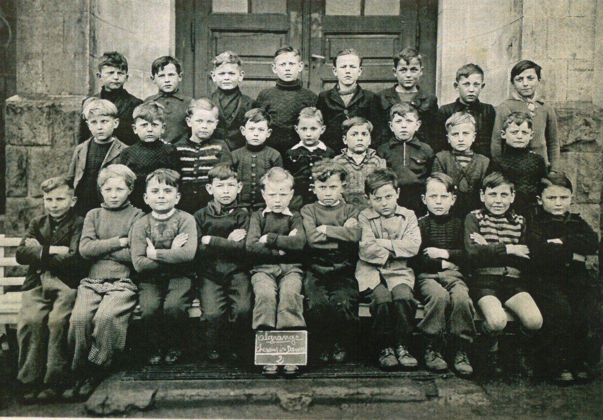 Année scolaire 1931-1932 classe de....... (garçons)