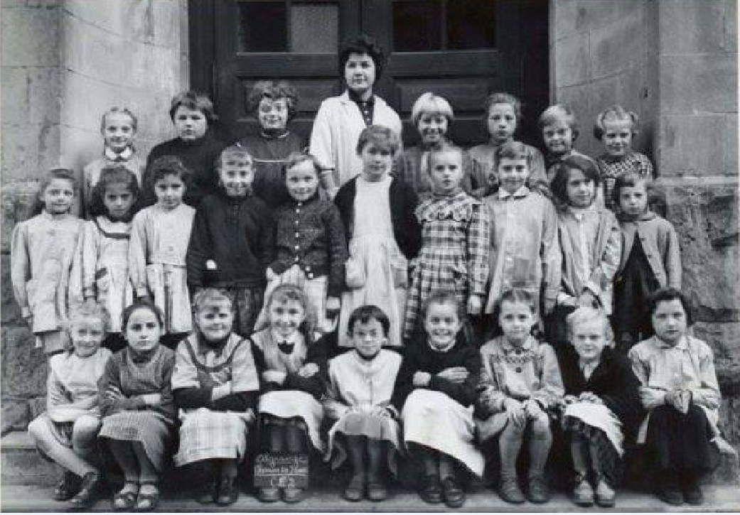 Année scolaire 1958-1959 Cours Elémentaire 2ème année (filles)