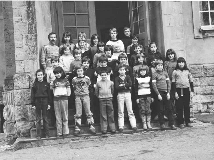 Année scolaire 1980-1981 Cours Moyen 1 et 2 (mixte) M. WIRTZ