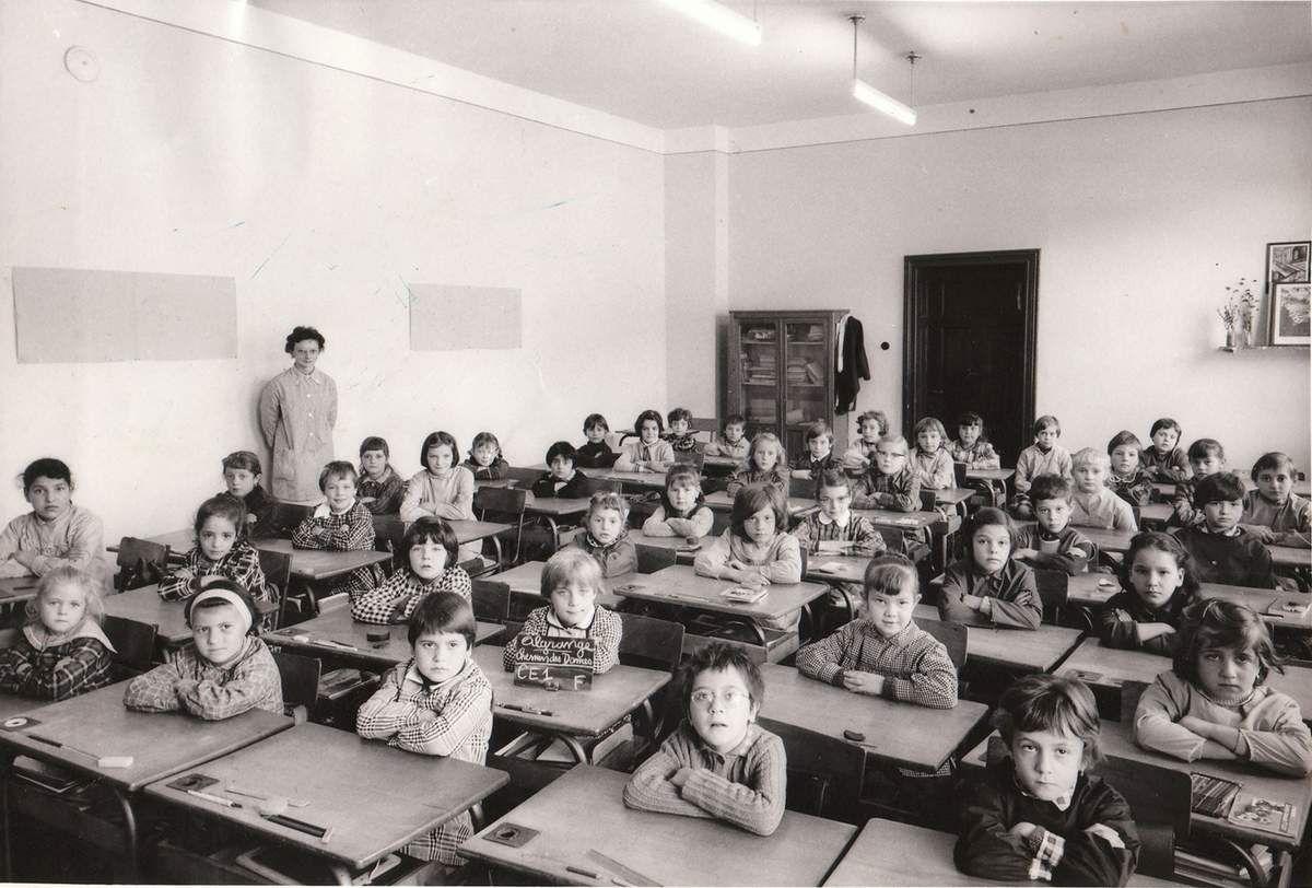 Année scolaire 1963-1964 Cours Elémentaire 1ère année (filles)
