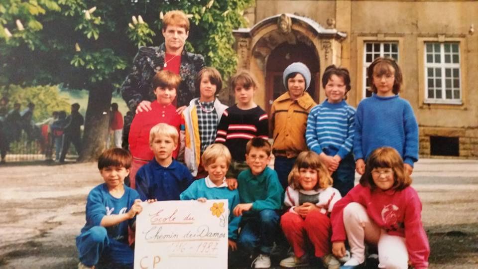 Année scolaire 1986-1987 Cours Préparatoire