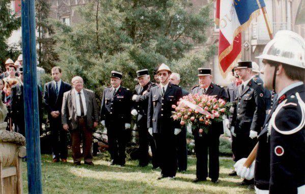 Centenaire du Corps des Sapeurs-Pompiers d'Algrange en 1992 (Partie 1)