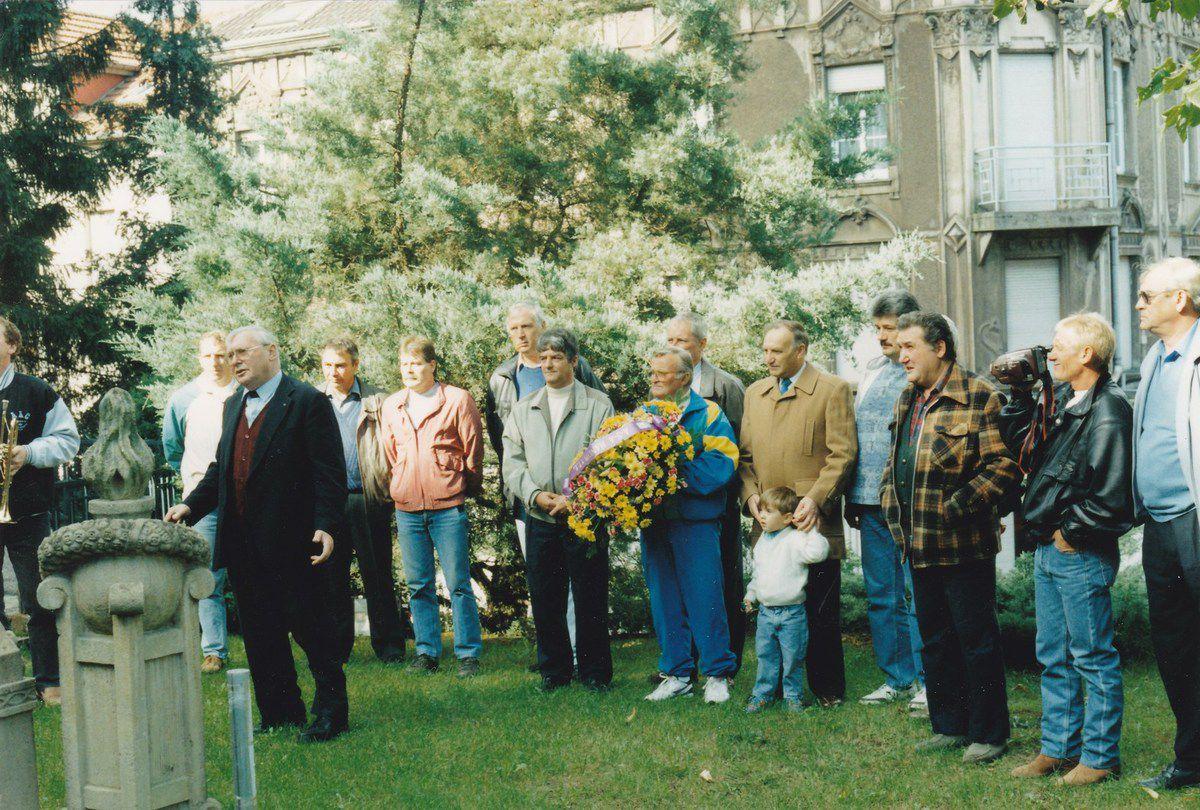 30 ème anniversaire du handball algrangeois en 1994