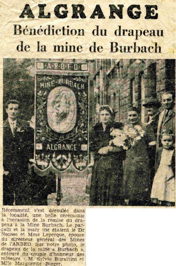 La mine Burbach à Algrange