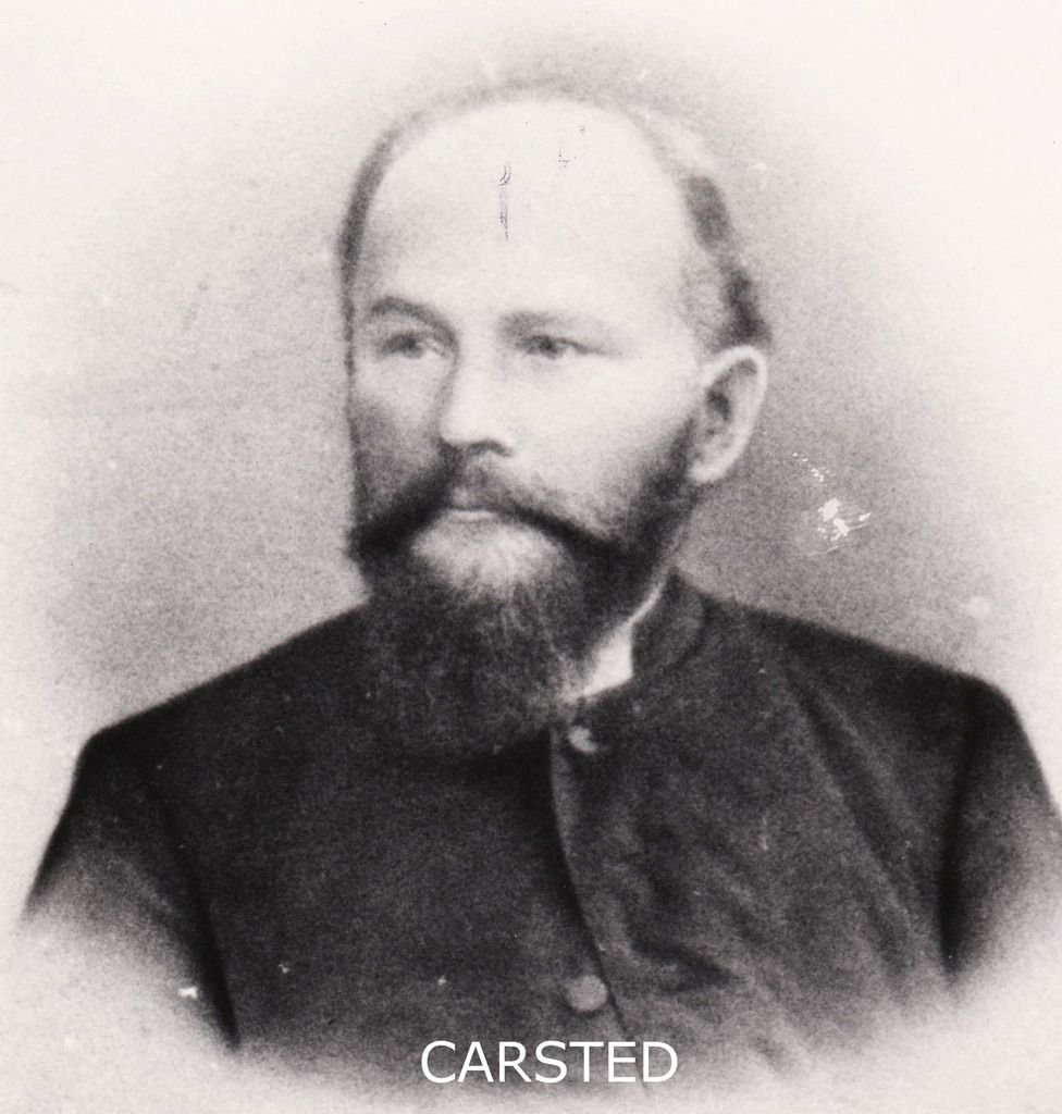 Le Pasteur Bernhard CARSTED