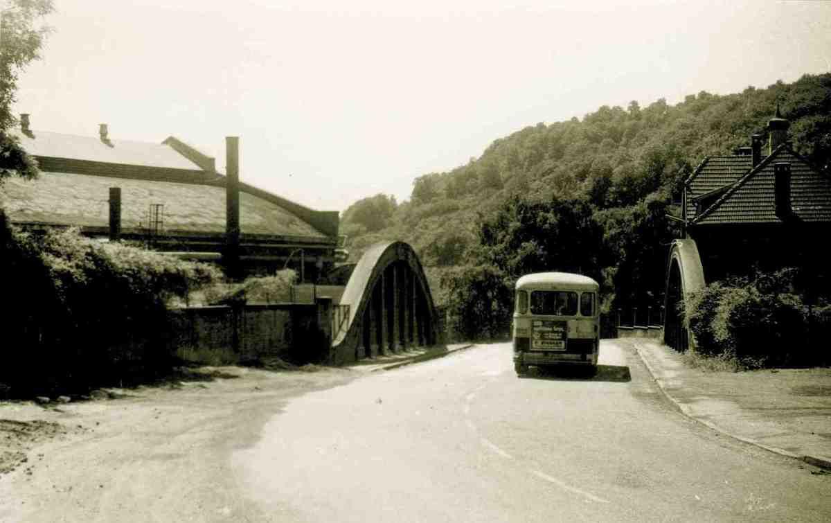 Histoire du pont reliant Algrange vers Knutange...