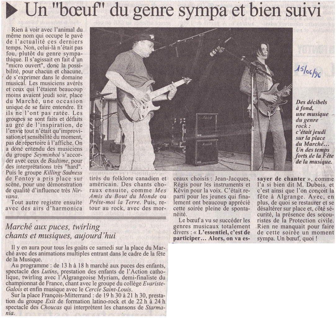 Fête de la Musique à Algrange en 1996 (1)