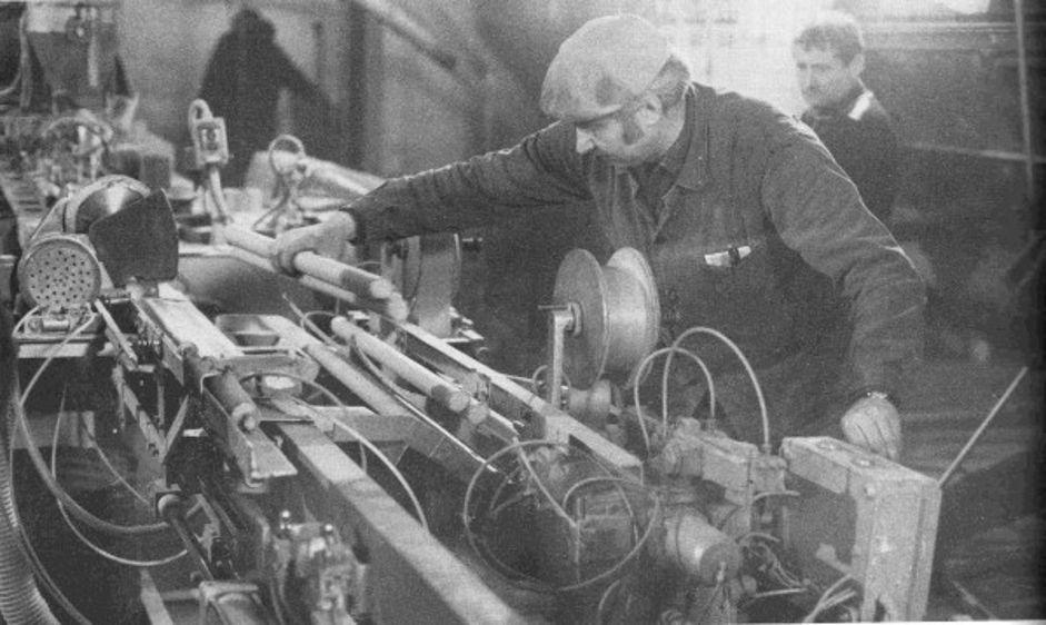 Fabrication des cartouches dans les années 20 et dans les années 70