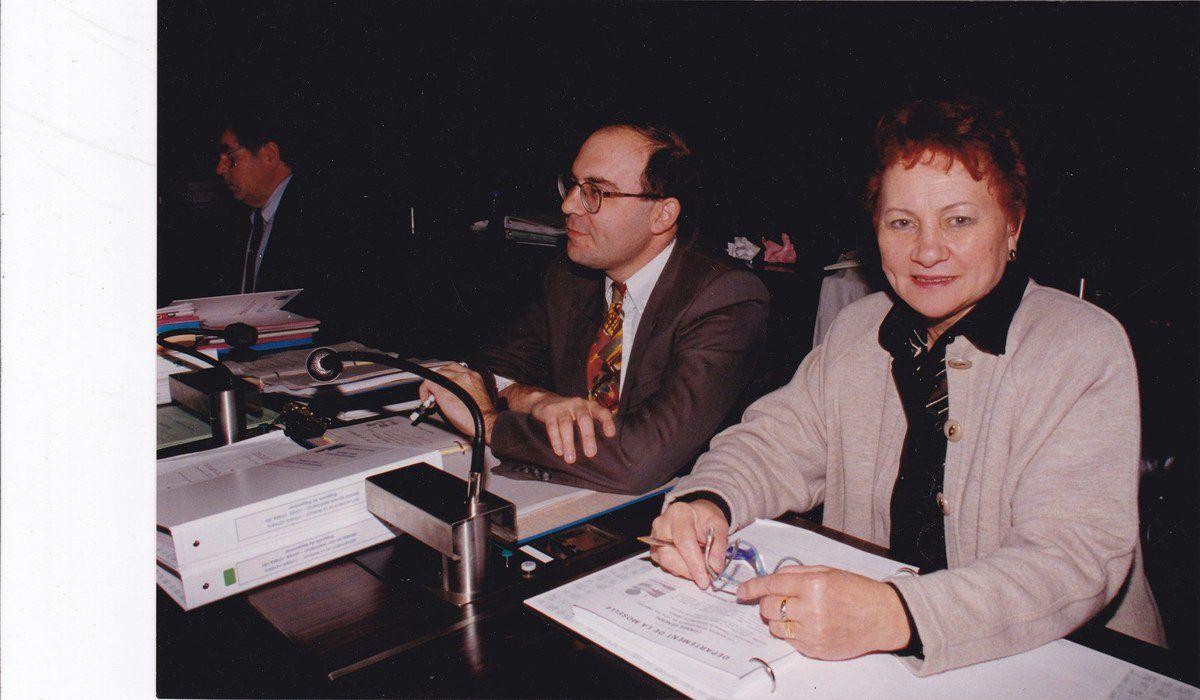 Henriette SIMONETTO, maire d'Algrange de 1977 à 1995