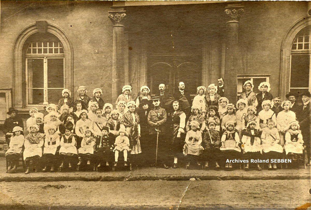 Souvenirs d'Algrange de 1910 à 1918, par le maire Paul FREY
