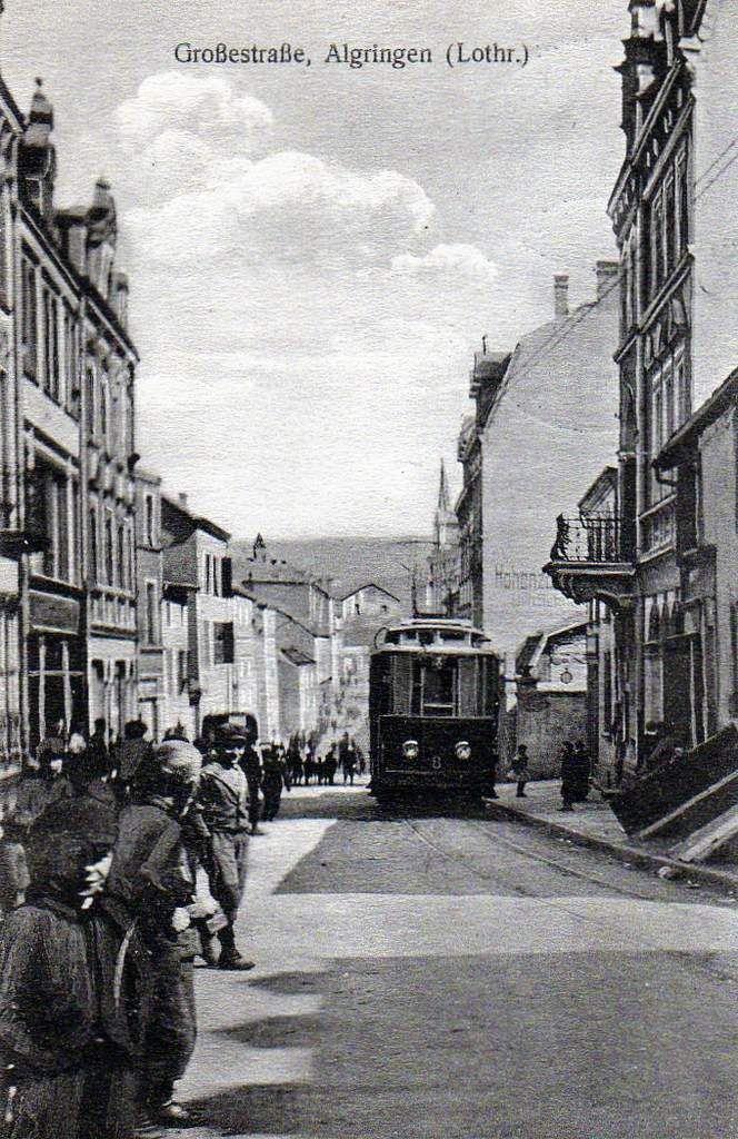 Inauguration du tramway en 1912