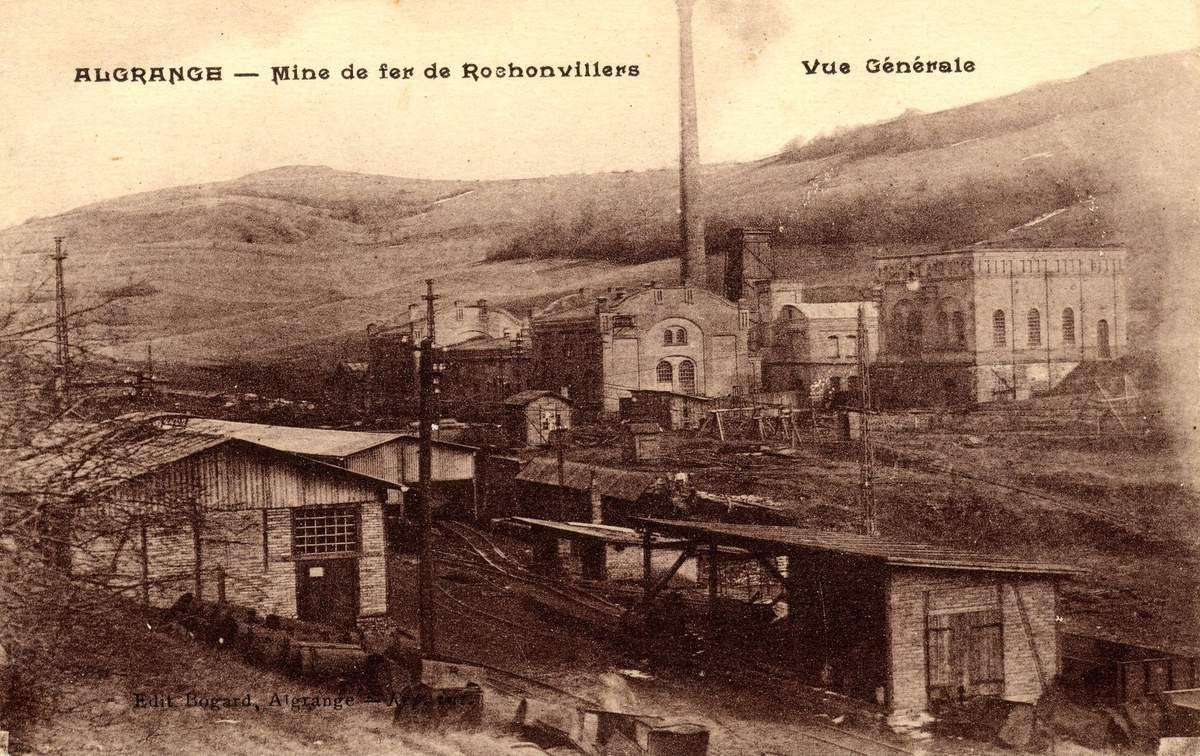 L'accident à la mine de PENSBRUNNEN (Rochonvillers) en 1919 à Algrange