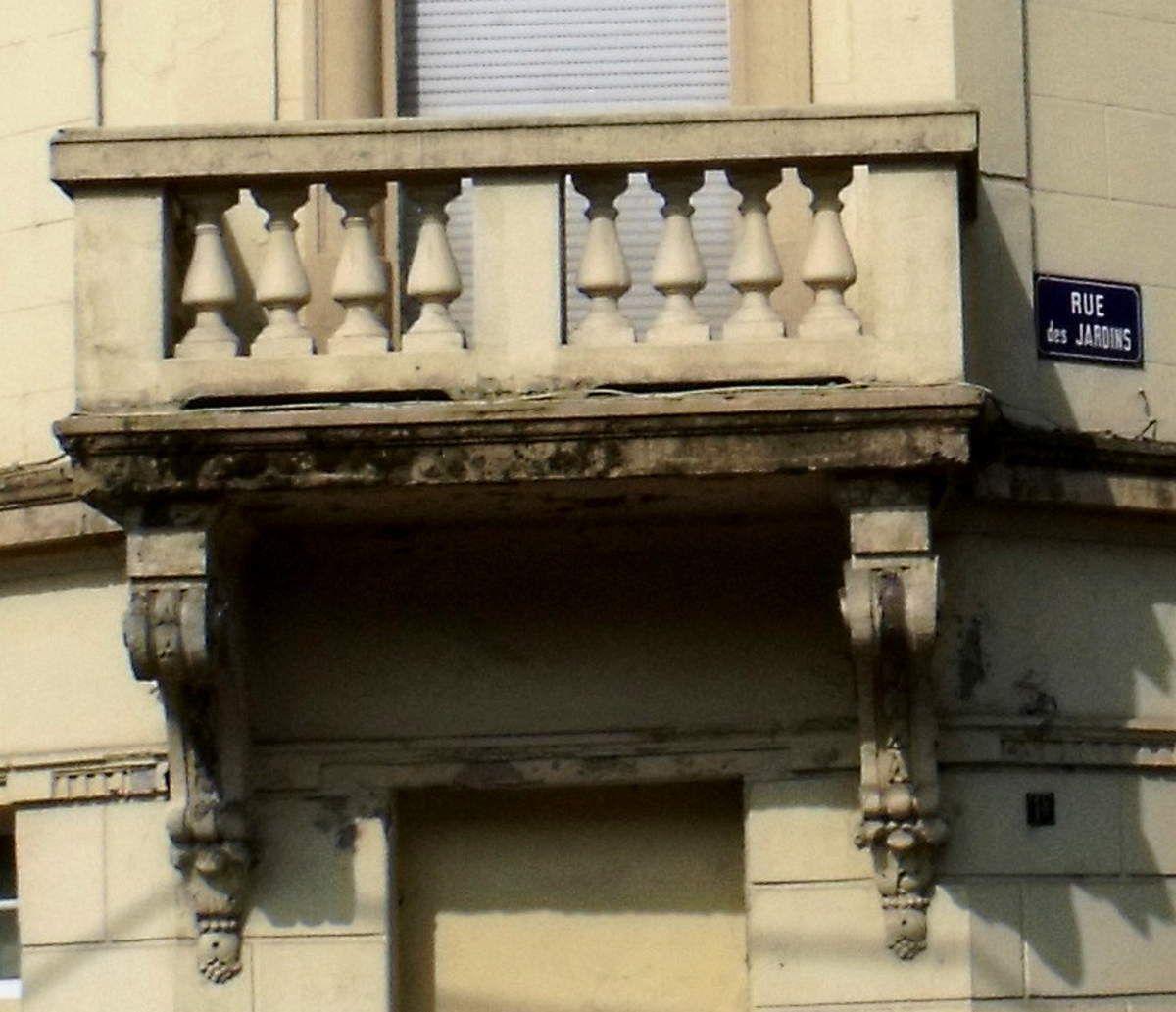 N° 1bis rue des Jardins à Algrange - Epicerie - Habitation