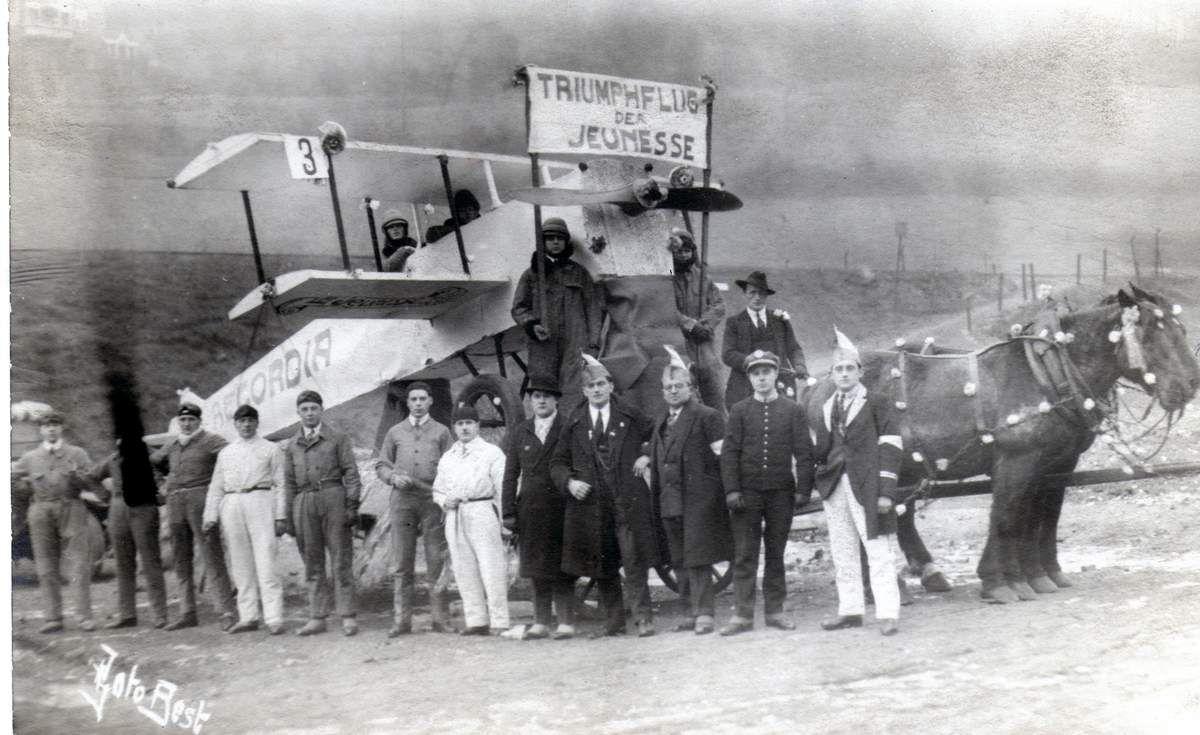 Carnavals des années 1930 et 1936 à Algrange