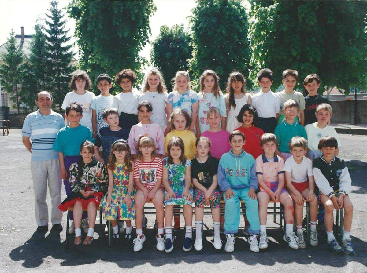 Classe de Cours Moyen 1ère année pour l'année 1991-1992