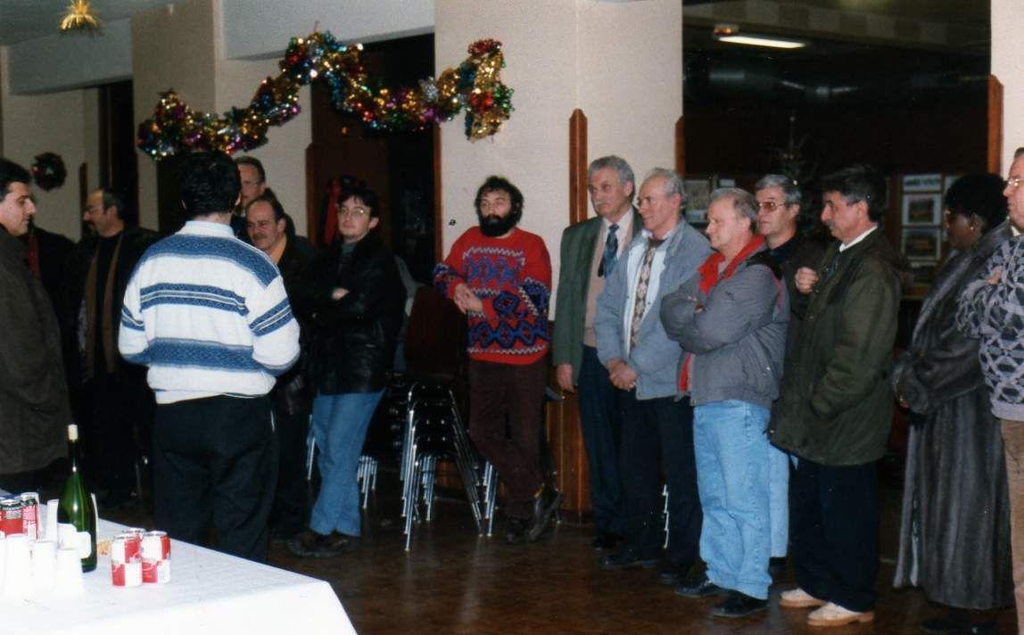 Les 75 ans de l'Association Sportive d'Algrange A.S.A. section football en 1996
