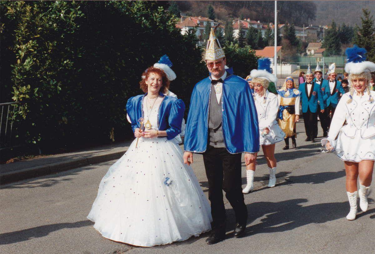 Cavalcade 1993 à Algrange