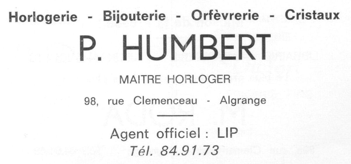 N° 98 rue Clemenceau - Coiffeur - Bijouterie - Pompes Funèbres