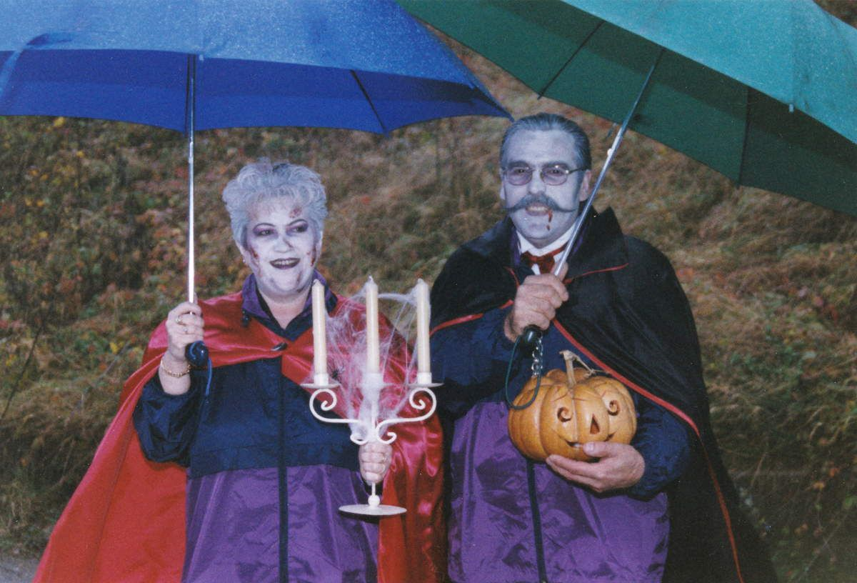 Le couple PAGONE: Cathy et Antoine