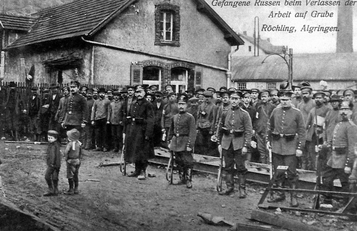 Le cimetière militaire franco-allemand-russe à Algrange