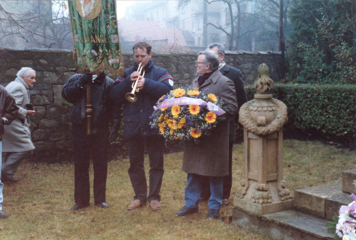 Sainte-Barbe des enfants et des mineurs en 1993 à Algrange